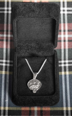 Clan Crest Silver Pendant