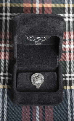 Clan Crest Silver Tie Pin