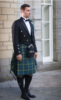 Luxury Prince Charlie Kilt Outfit