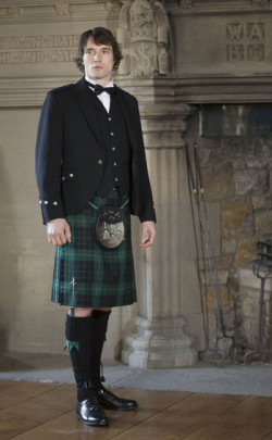 Luxury Argyll Kilt Outfit