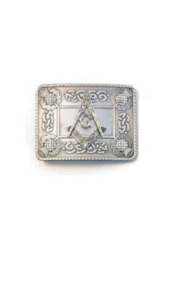 Masonic Thistle Buckle