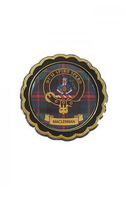 Clan Crest Round Fridge Magnet