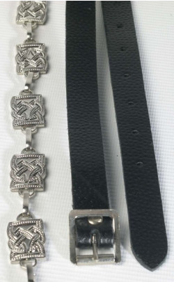 Fancy Square Link Sporran Chain Strap
