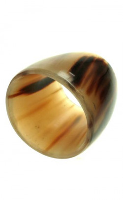 Oxhorn Napkin Ring