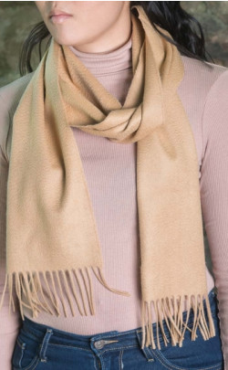 Classic Scottish Cashmere Scarf