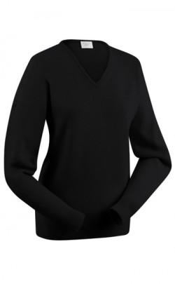 Ladies Lambswool Vee Neck Pullover