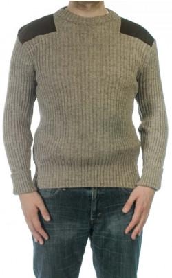 Heather Mix York Crew Neck Sweater