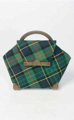 D.C. Dalgliesh Exclusive: Mini Framed Tartan Handbag