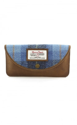 Harris Tweed Castle Bay Glasses Case