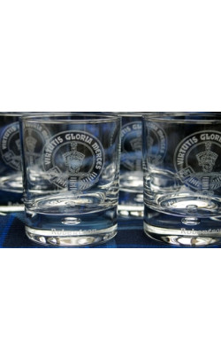 Clan Crest Whisky Glass Gift set with Presentation Box