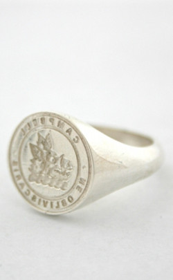 Small Clan Crest Reverse Seal Ring
