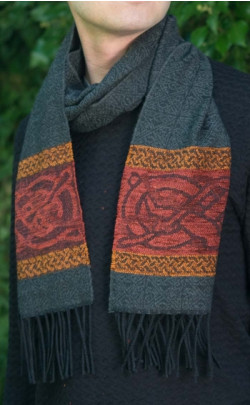 Celtic Dog Design Scarf