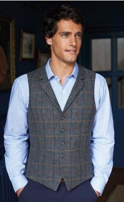 Tweed Collared Waistcoat