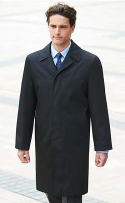 Classic Black Overcoat