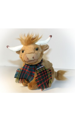 Bonnie the Wee Highland Cow