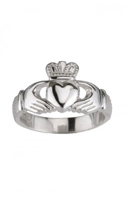 Silver Claddagh Ring, for her