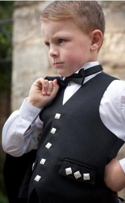 Boy's Argyll 5 Button Vest