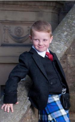Boy's Tweed Argyll Jacket