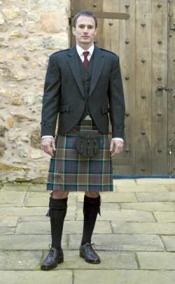 Made to Measure Tweed Argyll Jacket