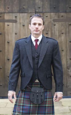 Tweed Argyll Jacket