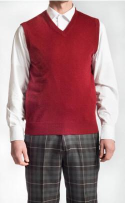 Cashmere V Neck Sleeveless Sweater
