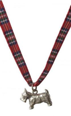 Child's Scottie Dog Silver Necklace