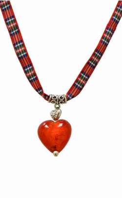 Child's Funky Heart Necklace