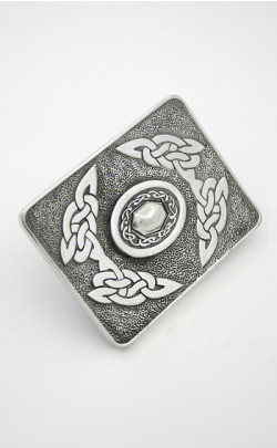 Celtic Oval Belt Buckle