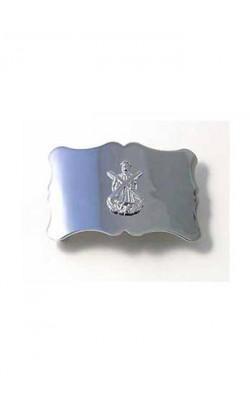 Plain St Andrews Cross Belt Buckle