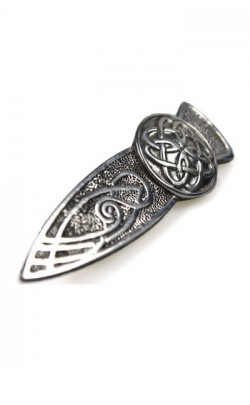 Celtic Rose Kilt Pin