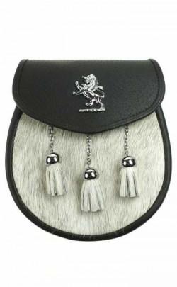 Semi Dress Sporran, Lion Rampant emblem