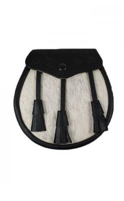 Essential Scotweb Semi‑Dress Sporran, with Leather Tassles