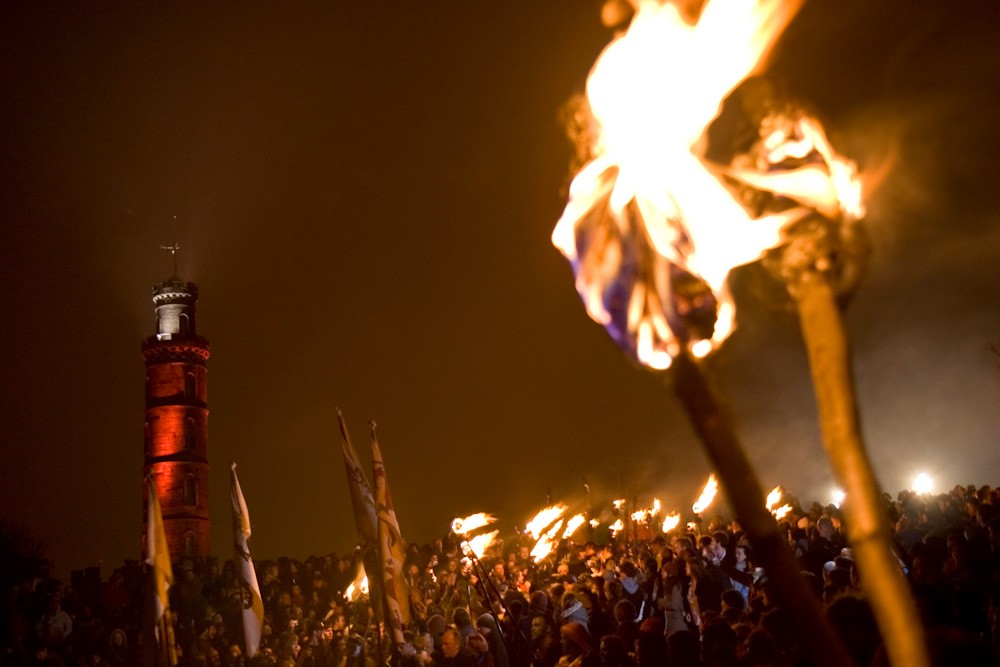 The Beltane Fire Festival