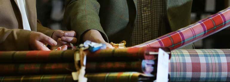 How a kilt is made - weaving tartan | CLAN by Scotweb
