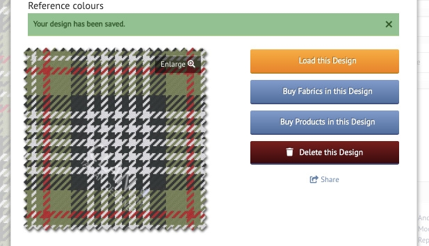 Buy products and fabrics